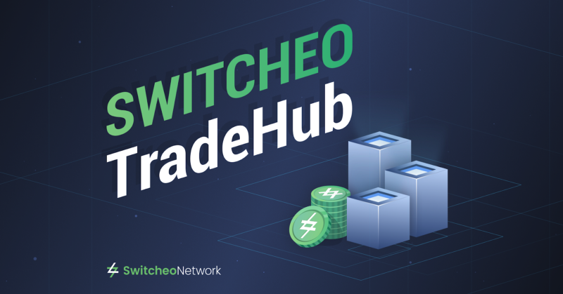 Introducing <bold>Switcheo</bold> TradeHub - The Next Evolution in Decentralized Cross-Chain Trading
