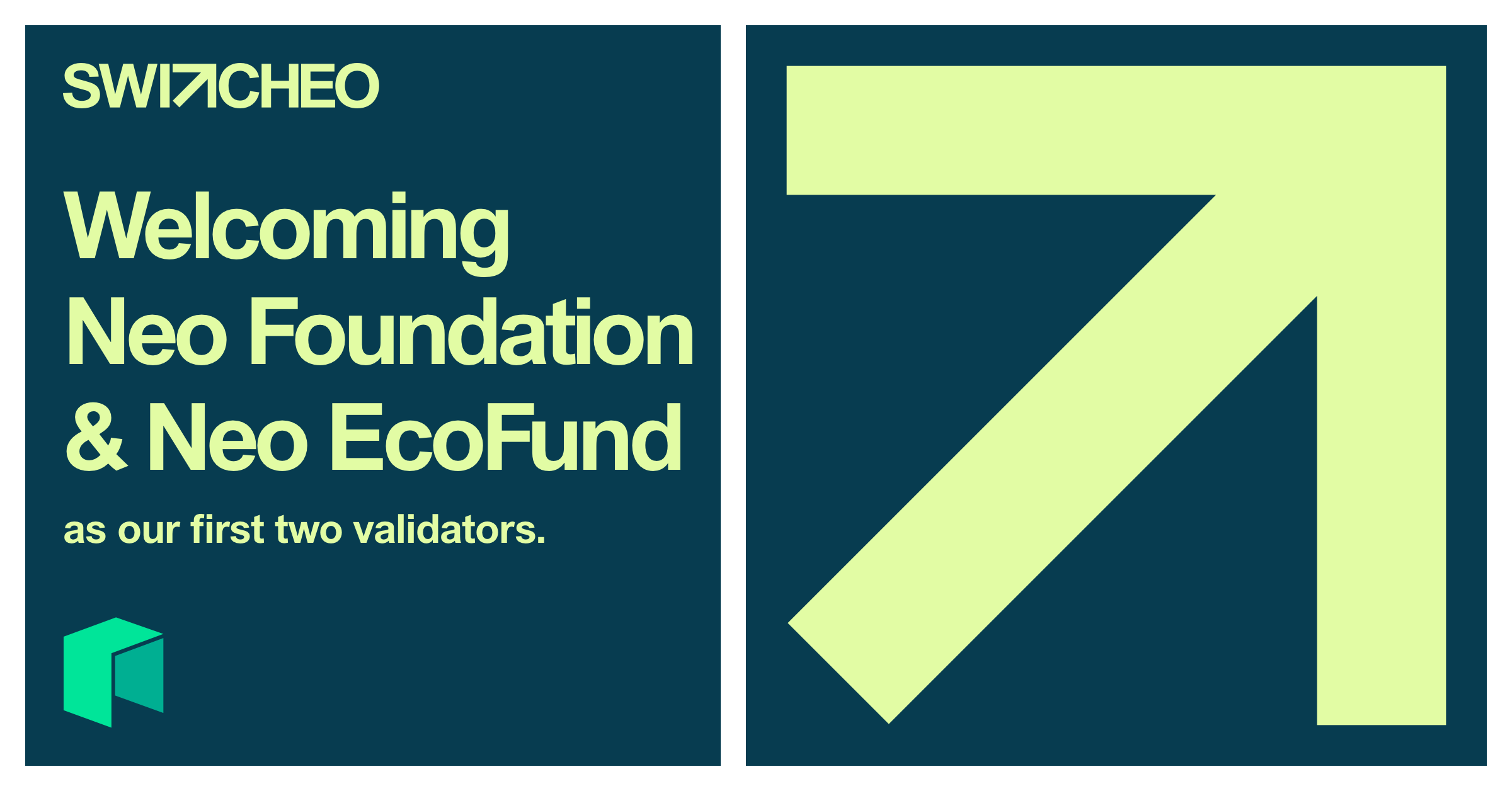 Neo Foundation & Neo EcoFund Supports <bold>Switcheo</bold> TradeHub as Validators
