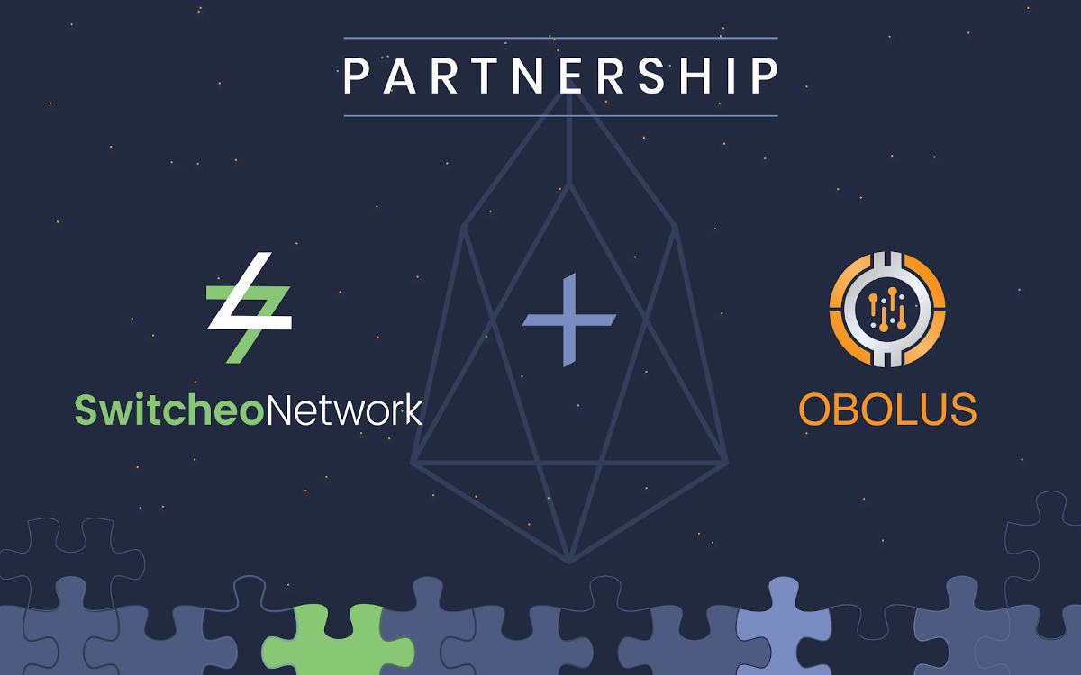 Switcheo Announces Strategic Partnership with Obolus to Launch an EOS DEX