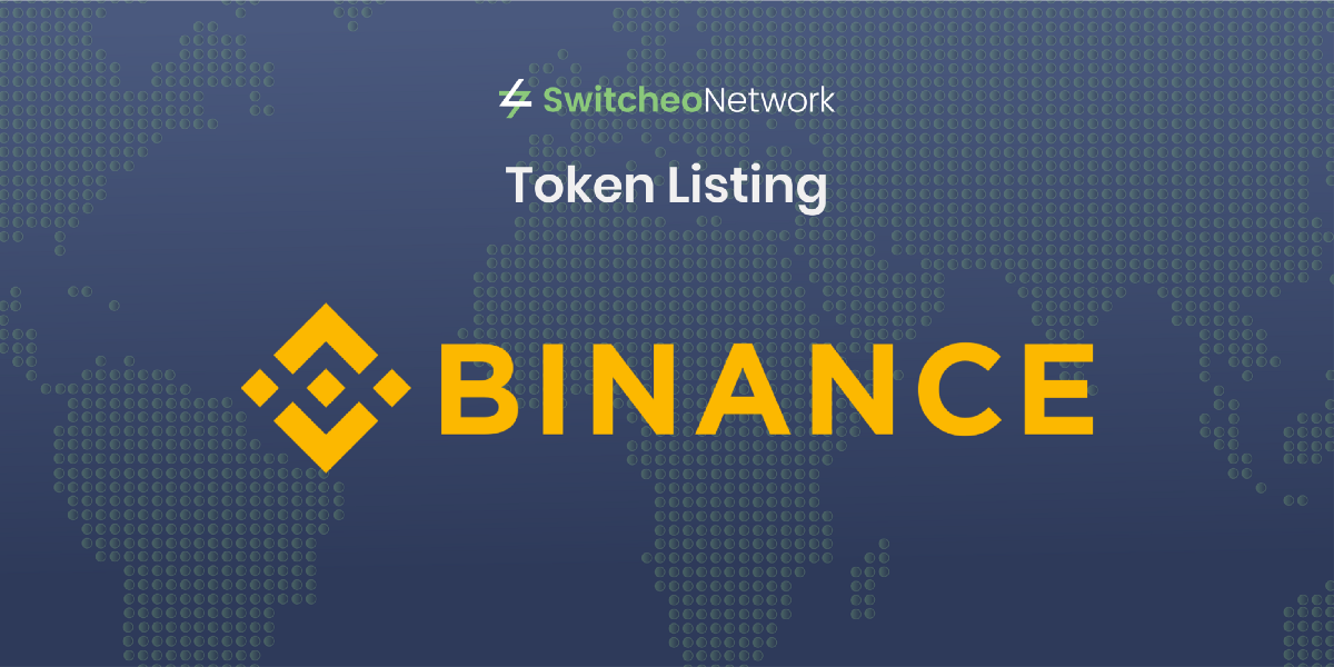 Switcheo Will List Binance Coin (BNB)