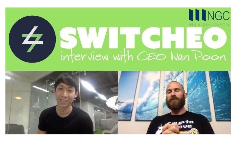 [Interview] Up Close and Personal With Switcheo CEO, Ivan Poon