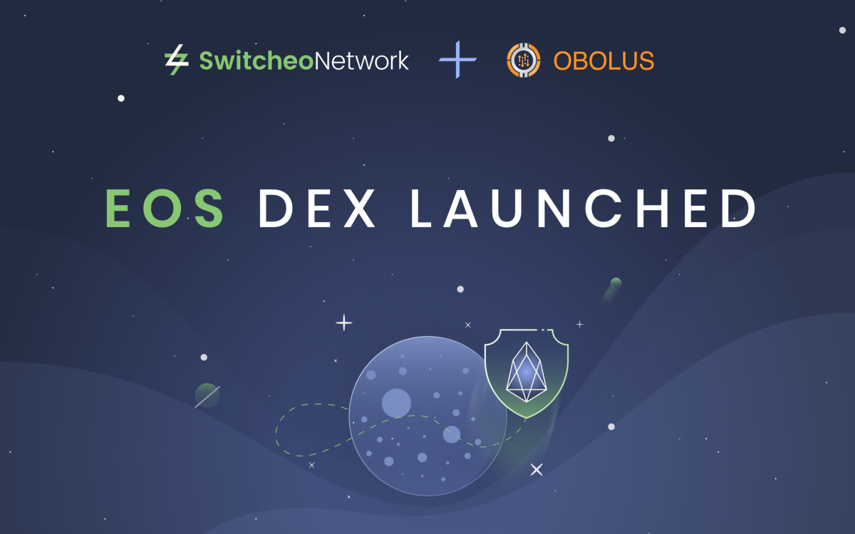 Switcheo Exchange Goes Live on EOS