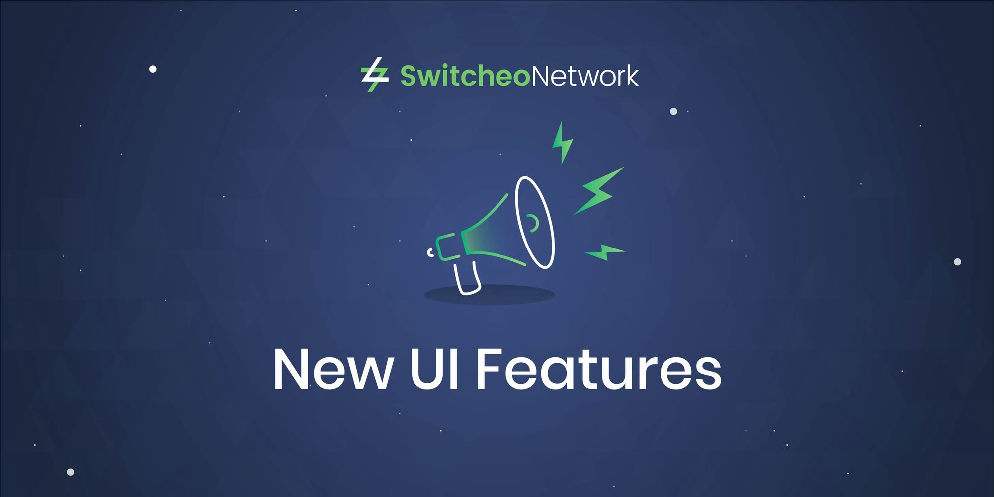 Switcheo Exchange — New UI Features!