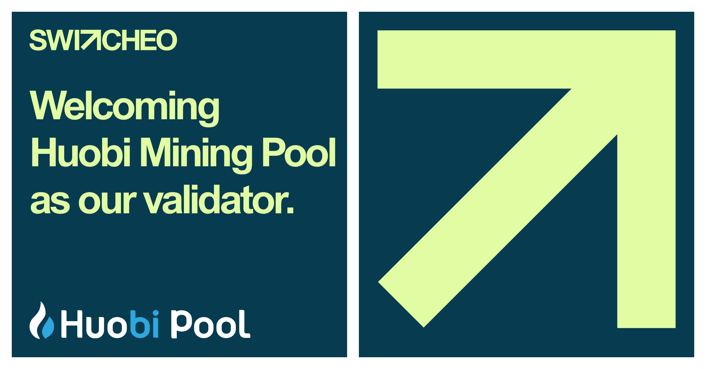 Huobi Mining Pool Supports Switcheo TradeHub as a Validator