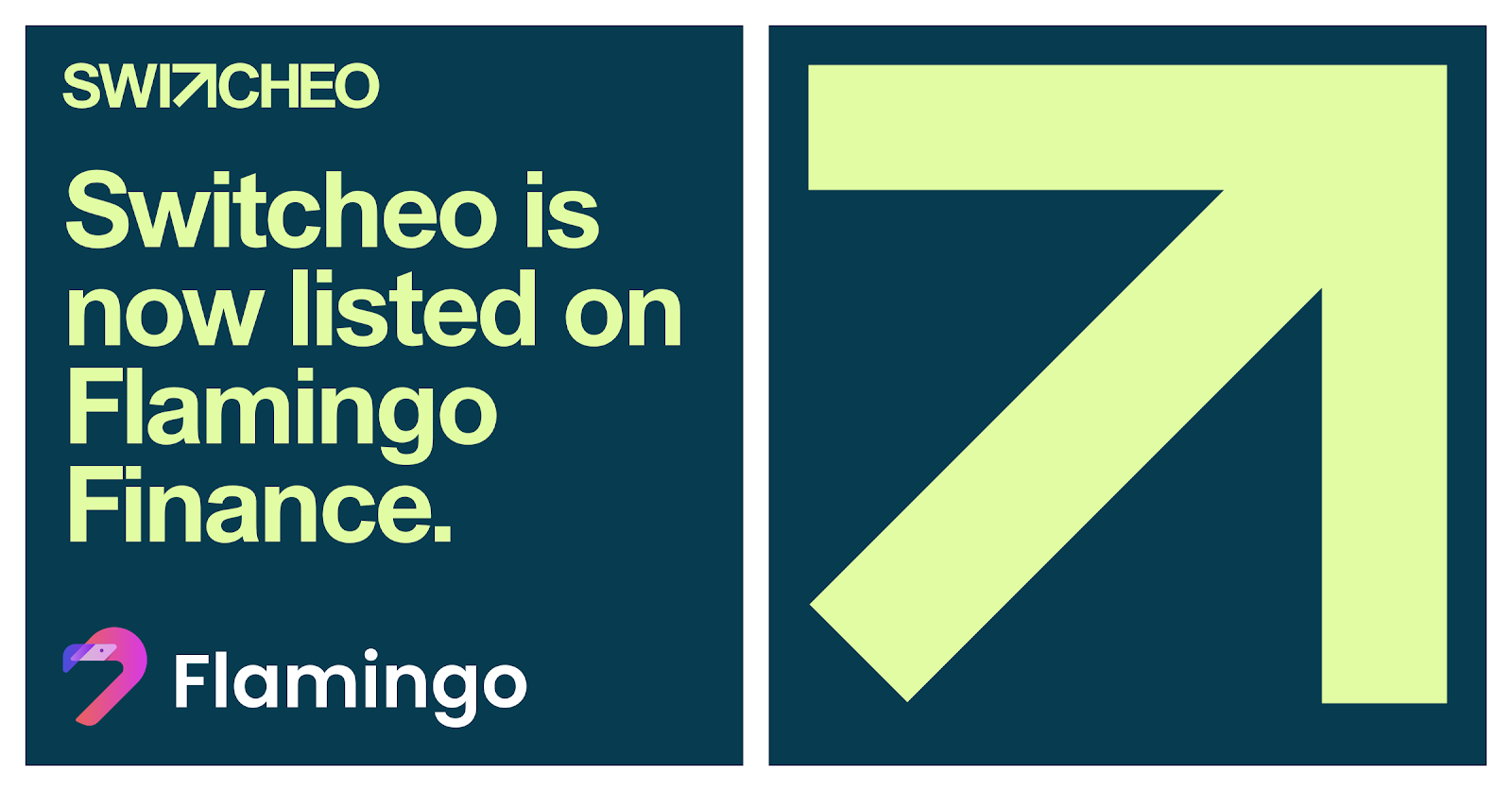 Switcheo is Now Listed on Flamingo Finance