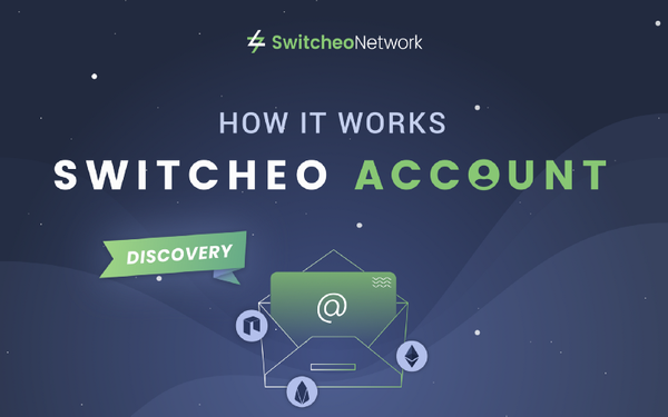 Switcheo Discovery: How Switcheo Account Actually Works