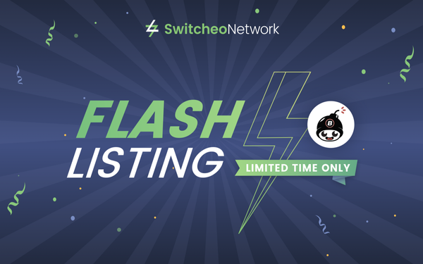 Switcheo Flash Listing — Bomb Token (BOMB)