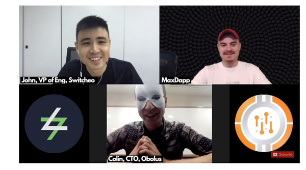 [Interview] Switcheo And Obolus Discussion On Atomic Swaps, Security, Margin Trading And Many More!