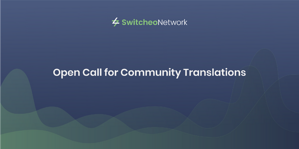 Open Call for Community Translations