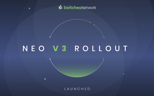 Switcheo Exchange — NEO V3 Launched!