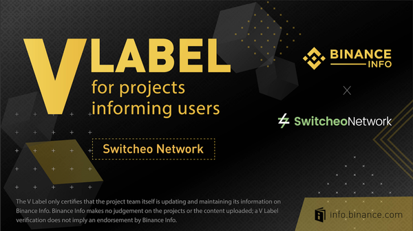 Switcheo Joins Binance Info Transparency Initiative