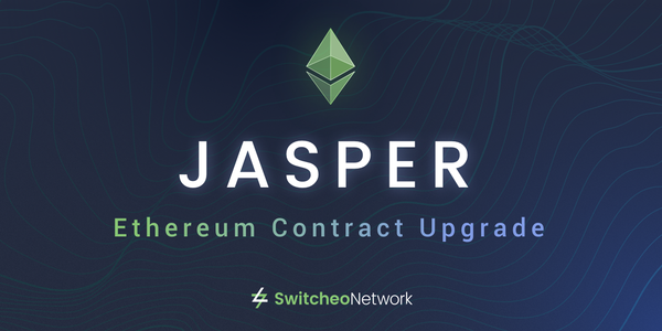 Switcheo Jasper — Our Ethereum Contract Upgrade!