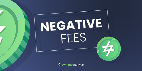 Trade with Negative Fees on Switcheo