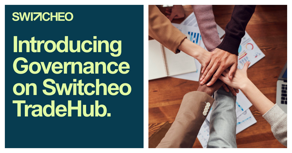 Introducing Governance on Switcheo TradeHub
