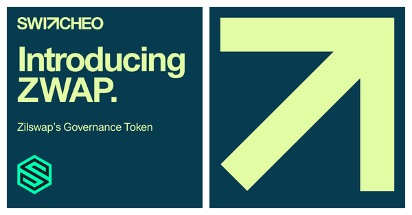 Introducing $ZWAP, ZilSwap's Governance Token